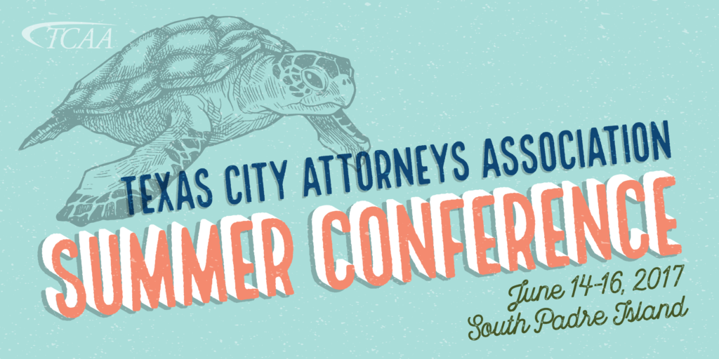 Banner: TCAA Summer Conference, June 14-16, 2017, South Padre Island
